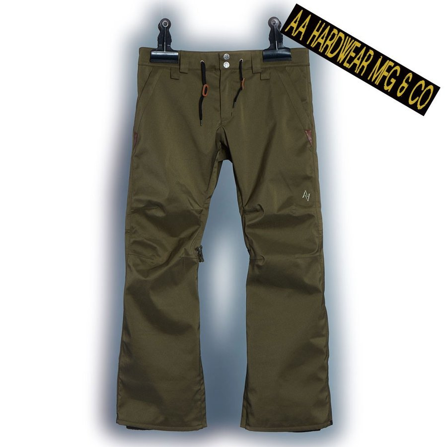 ダブルエー SMOKER PANTS 721-193-33 STRETCH KHAKI メンズ AA HARDWEAR