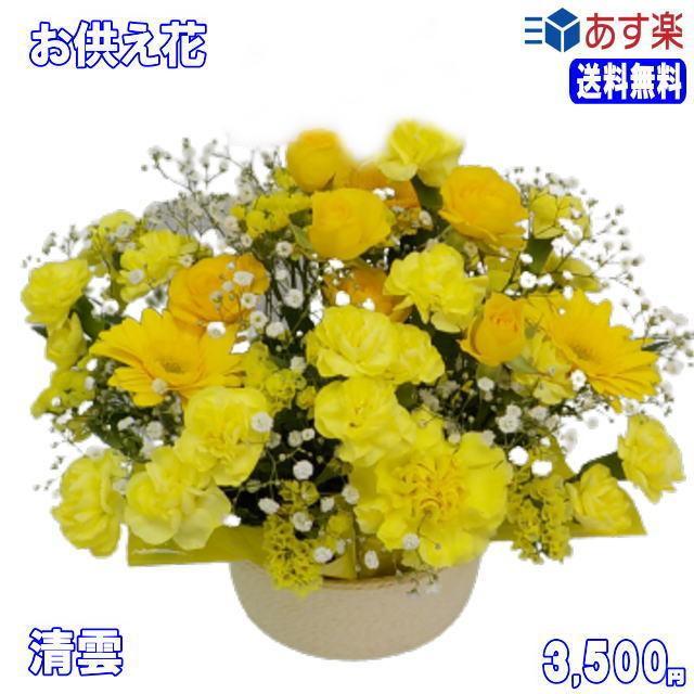ペットのお供え・お悔やみに贈る花 フラワーアレンジ 青雲  3,500円 今だけ 送料無料 eehana 07