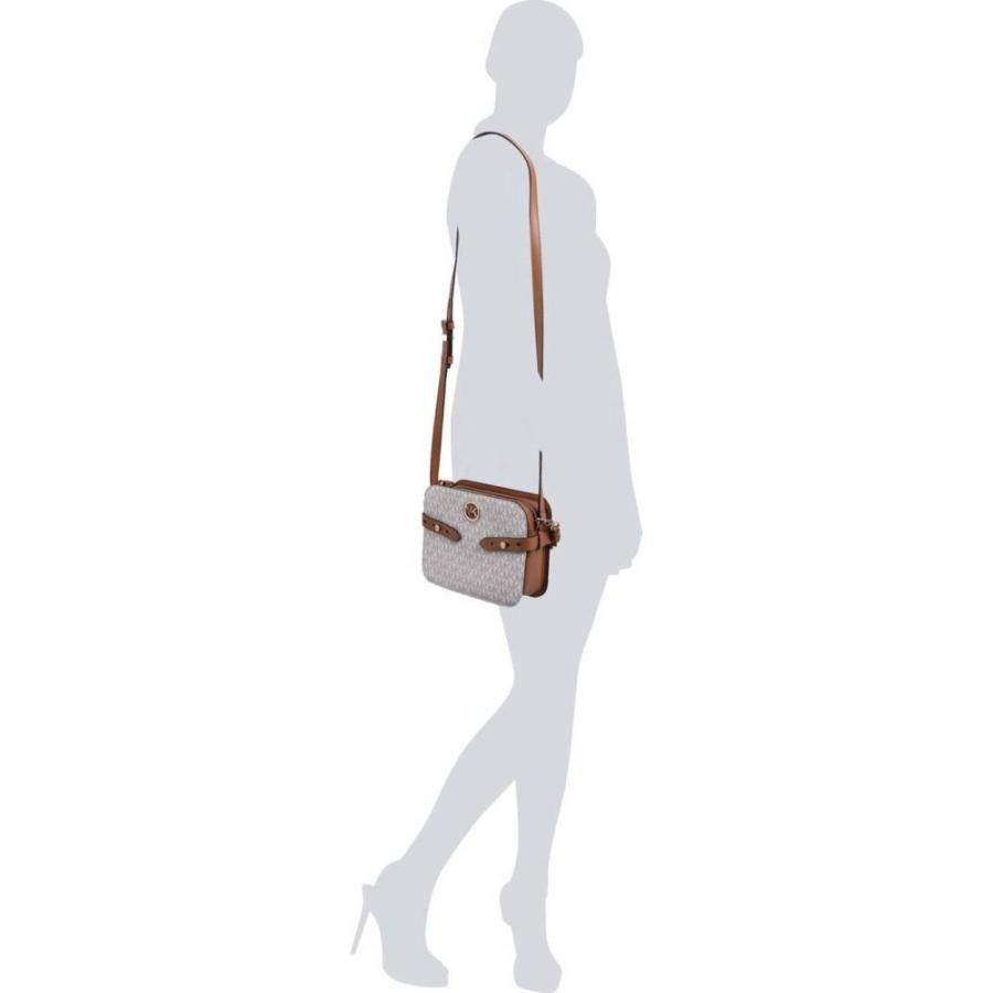 マイケル コース MICHAEL Michael Kors レディース ショルダーバッグ カメラバッグ バッグ Carmen Large Camera Bag Vanilla/Acrn|ef-3|03
