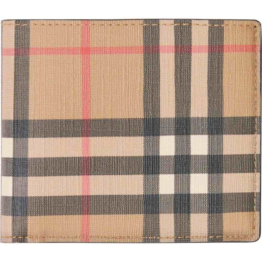 魅力的な バーバリー バーバリー BURBERRY メンズ メンズ 財布 Vintage Check Check Billfold Wallet Beige, グリーンラボラトリー:719a0a62 --- sonpurmela.online