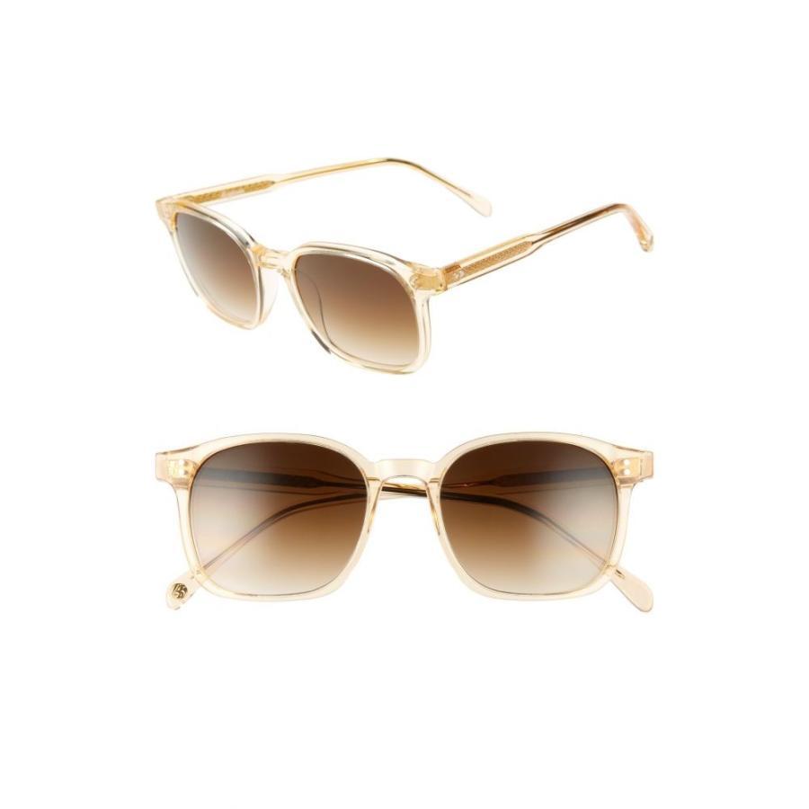 値段が激安 ブライトサイド BRIGHTSIDE レディース メガネ 51mm Dean・サングラス Dean 51mm Square Brown Sunglasses Champagne Crystal/ Brown, ヒロガワチョウ:27e48d0b --- sonpurmela.online