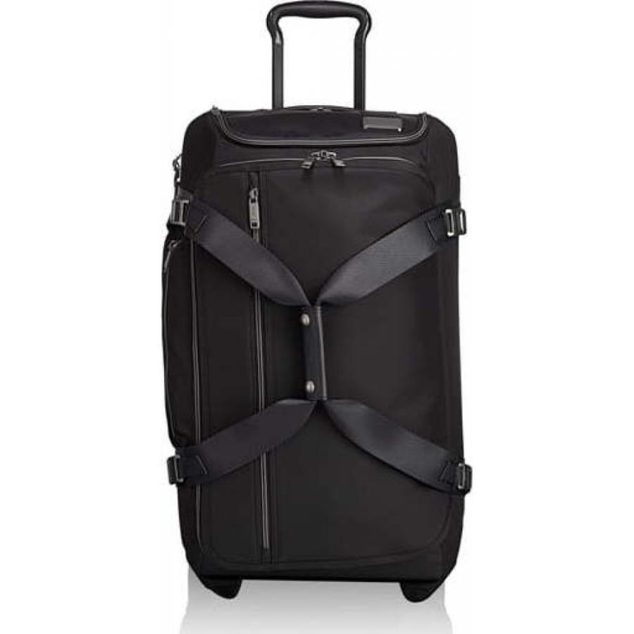 トゥミ TUMI メンズ スーツケース・キャリーバッグ バッグ Merge 26-Inch Rolling Duffel Case Black Contrast