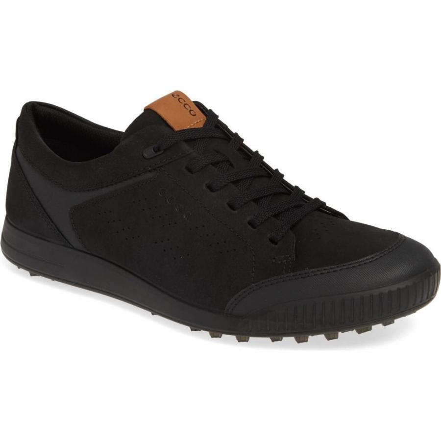 エコー ECCO メンズ シューズ・靴 ゴルフ Street Retro LX Golf Shoe 黒 Leather