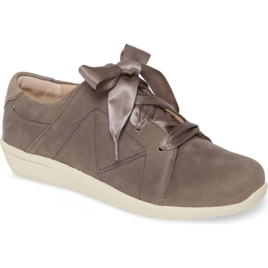 最低価格の バイオニック VIONIC レディース スニーカー シューズ・靴 Lindsey Sneaker Slate Grey Waterproof Nubuck, ブランド買蔵 7d8be056