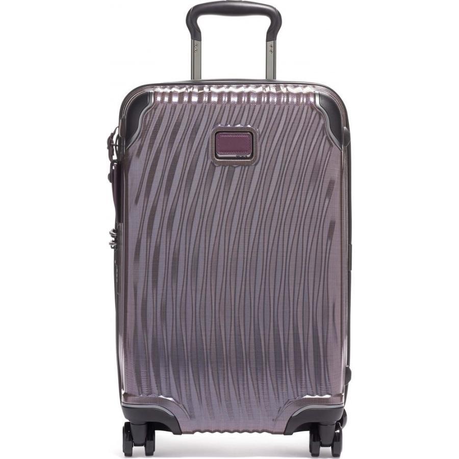 トゥミ TUMI メンズ スーツケース・キャリーバッグ バッグ Latitude 22-Inch International Rolling Carry-On Purple