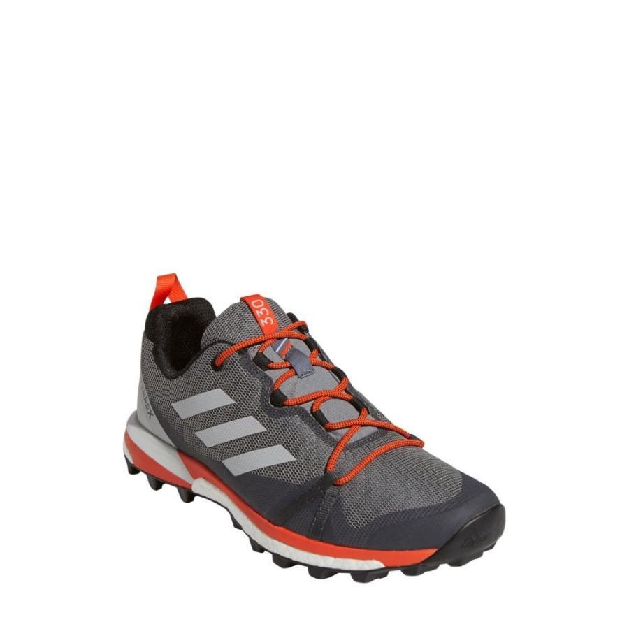 アディダス ADIDAS メンズ ランニング・ウォーキング シューズ・靴 Terrex Skychaser LT Trail Running Shoe グレー Three/グレー One/オレンジ