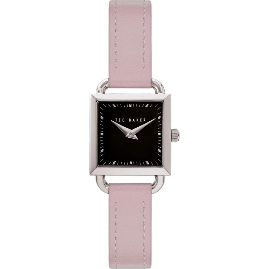 大勧め テッドベーカー TED BAKER LONDON レディース 腕時計 Taliah Leather Strap Watch24mm Tan/Black/Silver, ハスヌマムラ 25c5989b