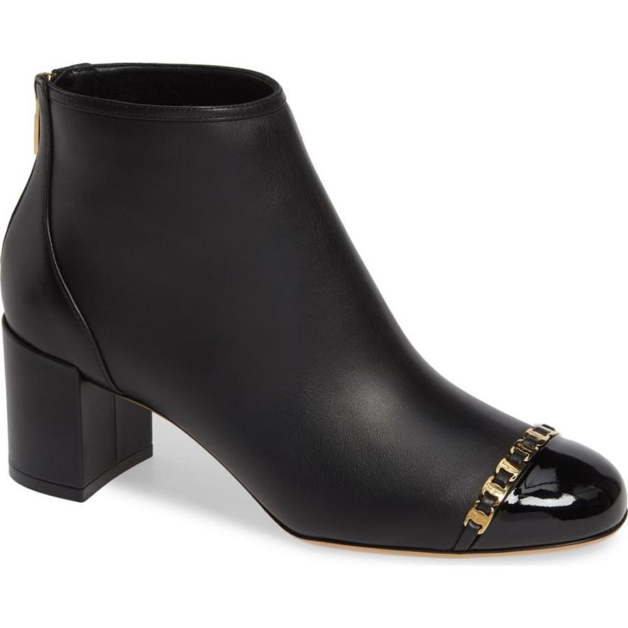 トミカチョウ サルヴァトーレ フェラガモ Bootie SALVATORE FERRAGAMO Atri レディース ブーツ フェラガモ シューズ・靴 Atri Chain Link Bootie, セレクトショップFriends:5accb378 --- sonpurmela.online