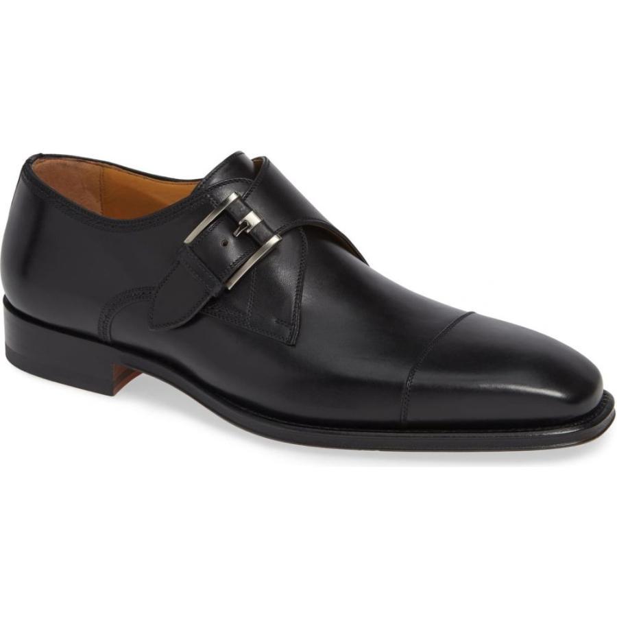 【即納!最大半額!】 マグナーニ MAGNANNI Black メンズ メンズ 革靴・ビジネスシューズ モンクストラップ Lennon シューズ・靴 Lennon Monk Strap Shoe Black Leather, 味そう倶楽部:e7739e1e --- grafis.com.tr