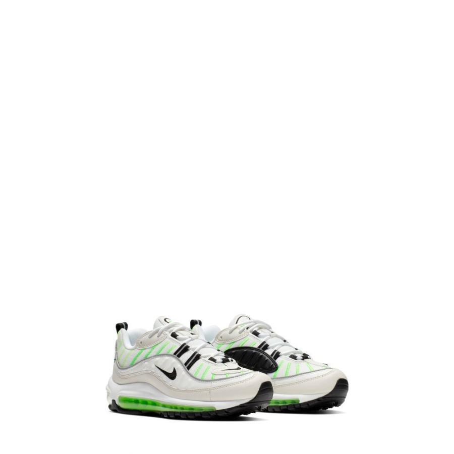 ナイキ NIKE レディース ランニング・ウォーキング エアマックス 98 シューズ・靴 Air Max 98 Running Shoe 白い/黒/Phantom