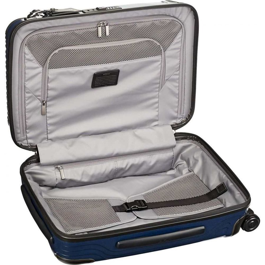 トゥミ TUMI メンズ スーツケース・キャリーバッグ バッグ Latitude 22-Inch International Rolling Carry-On Navy