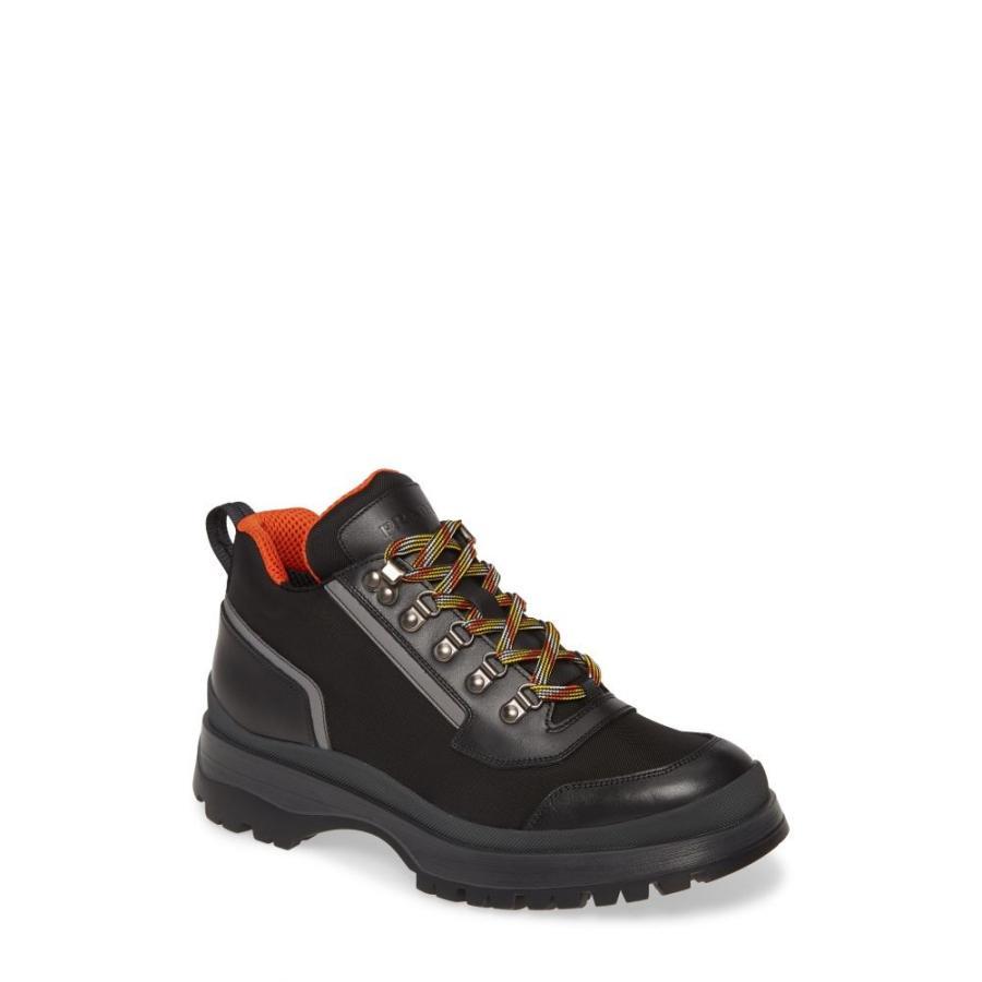 プラダ PRADA メンズ ハイキング・登山 ブーツ シューズ・靴 Novo Hiking Boot Nero/Arancio