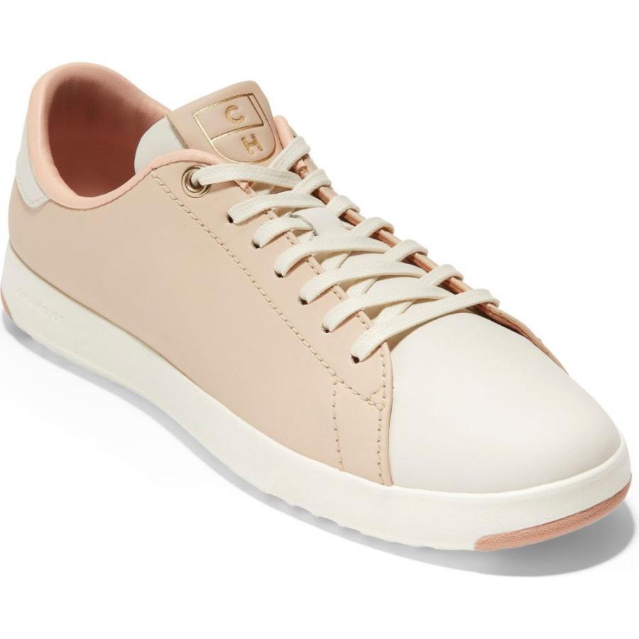 最安値に挑戦! コールハーン COLE HAAN レディース テニス シューズ・靴 GrandPro Tennis Shoe Brazil Sand/Ivory Leather, 玉湯町 9cef3aa7