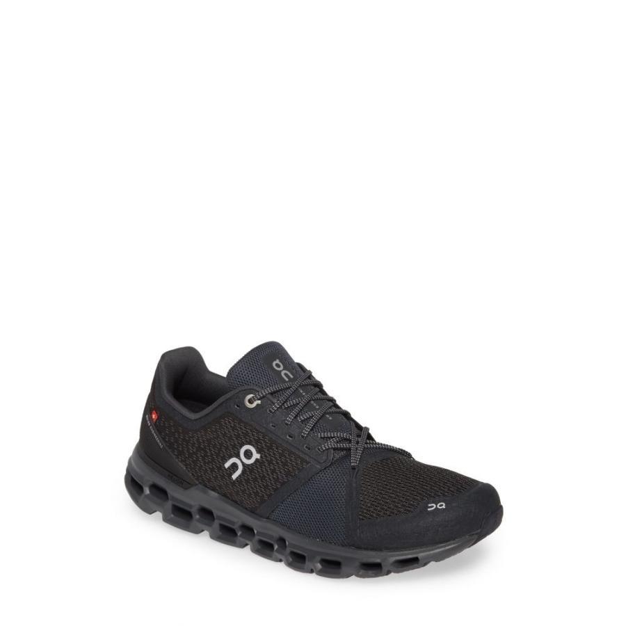 オン ON RUNNING メンズ シューズ・靴 ランニング・ウォーキング Cloudstratus Running Shoe 黒/Shadow