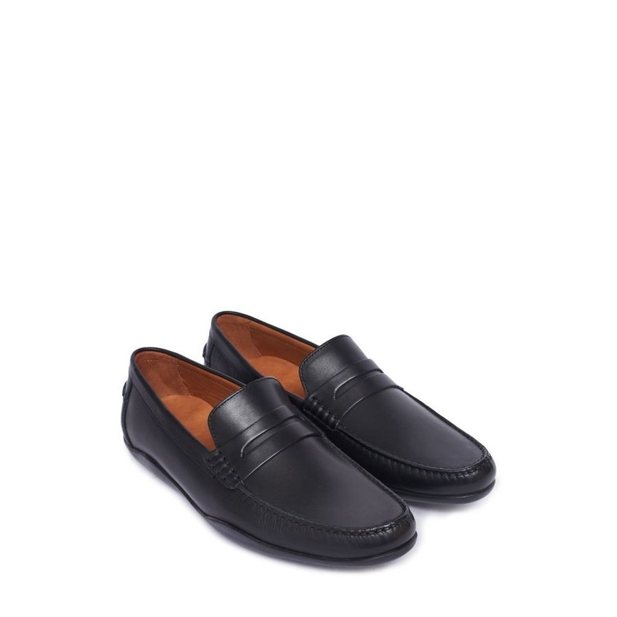 正規 ハリーズ オブ LONDON ロンドン HARRYS OF LONDON メンズ ローファー Basel Black シューズ・靴 Basel Penny Loafer Black, 守山区:6565b86b --- chizeng.com