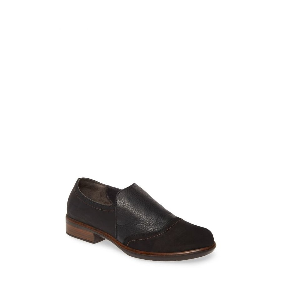 65%OFF【送料無料】 ナオト NAOT レディース Leather ローファー NAOT・オックスフォード シューズ・靴 Loafer Angin Loafer Black/Coal Leather, 1.2.step.hiro:2cb7462c --- chizeng.com