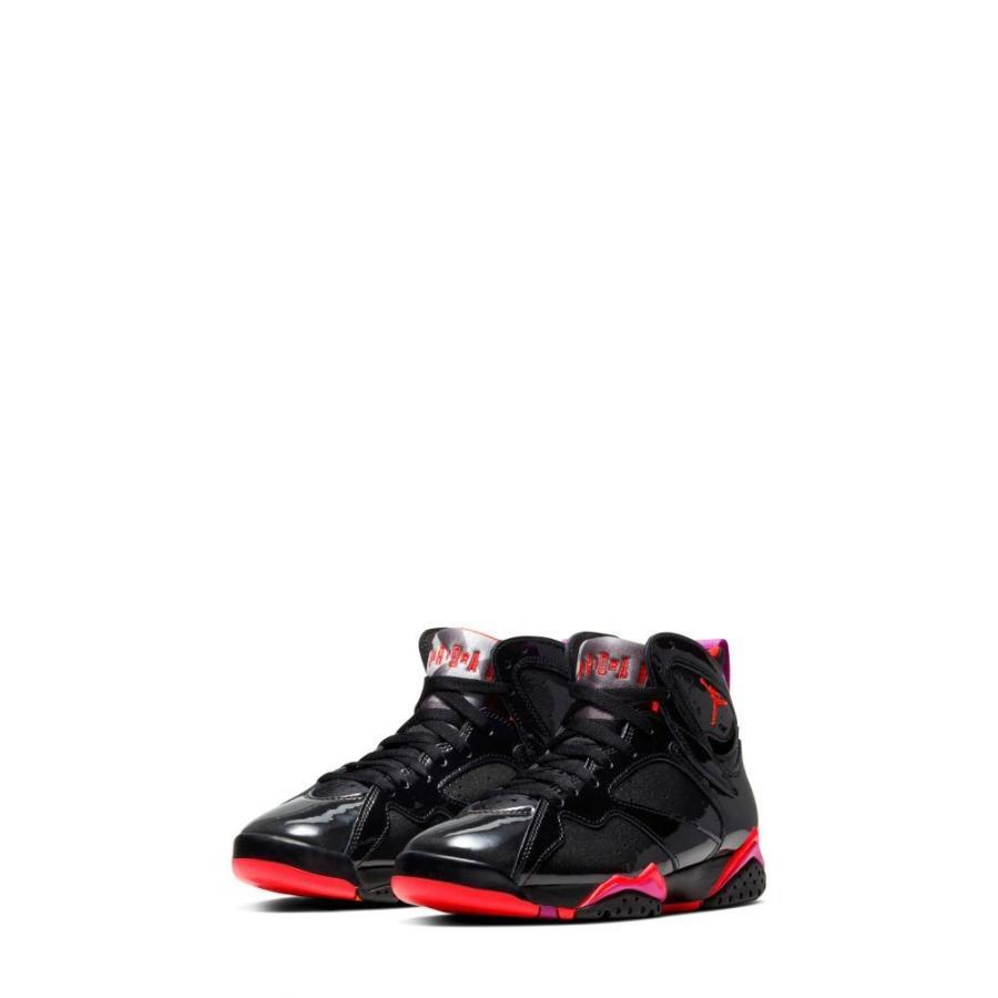 ナイキ ジョーダン JORDAN レディース スニーカー ハイカット シューズ・靴 Nike Air Jordan 7 Retro High Top Sneaker 黒/Bright Crimson