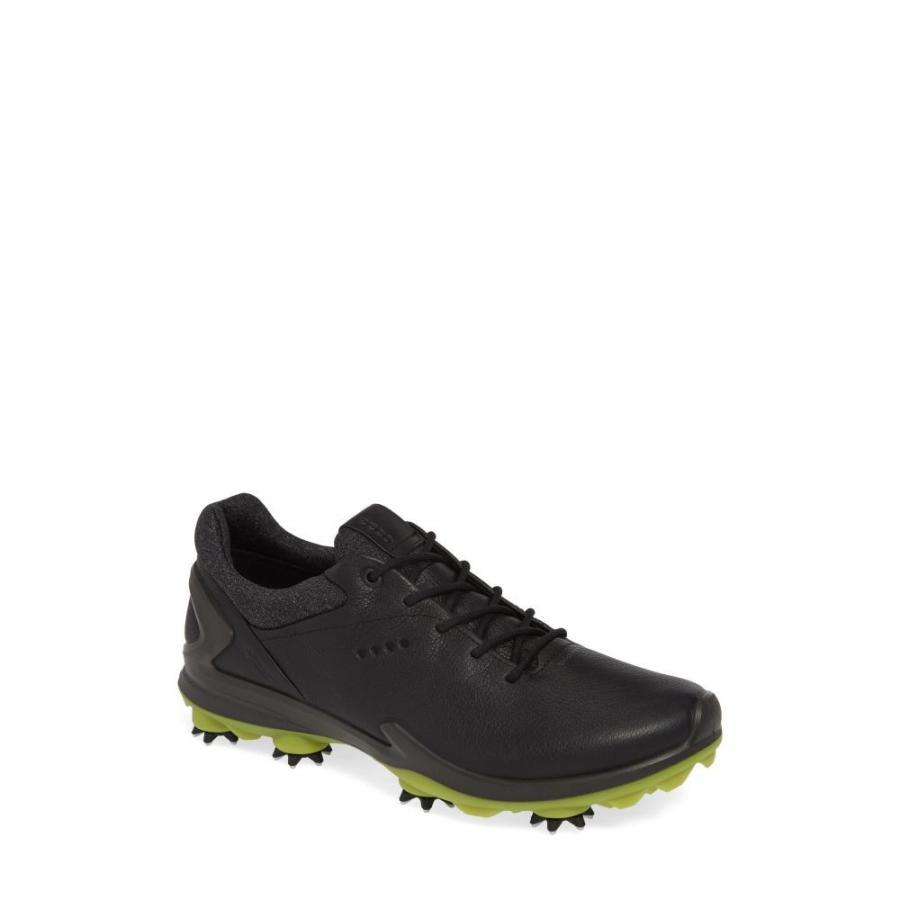 一番人気物 エコー ECCO メンズ ゴルフ シューズ・靴 BIOM G 3 Gore-Tex Golf Shoe Black Leather, アジアンアジアン 56034f30