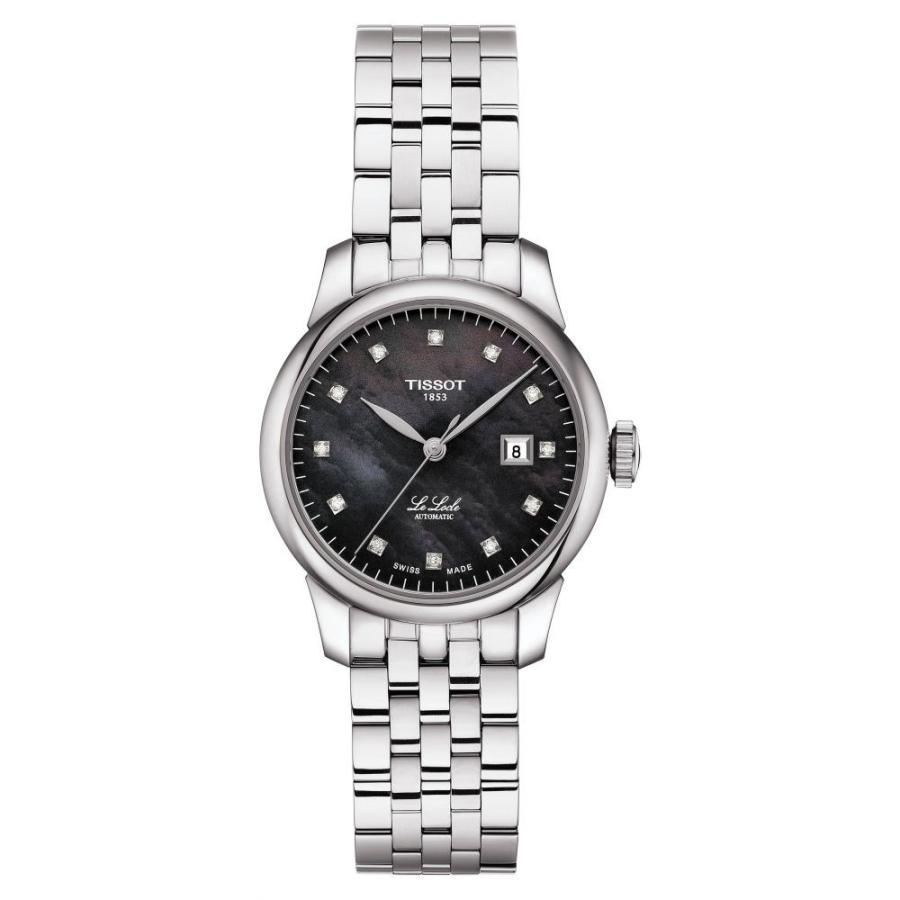 新到着 ティソ TISSOT TISSOT レディース 腕時計 Le 腕時計 Locle Le Diamond Bracelet Watch29mm Silver/Black Mop/Silver, 松山町:d10ae8d4 --- airmodconsu.dominiotemporario.com