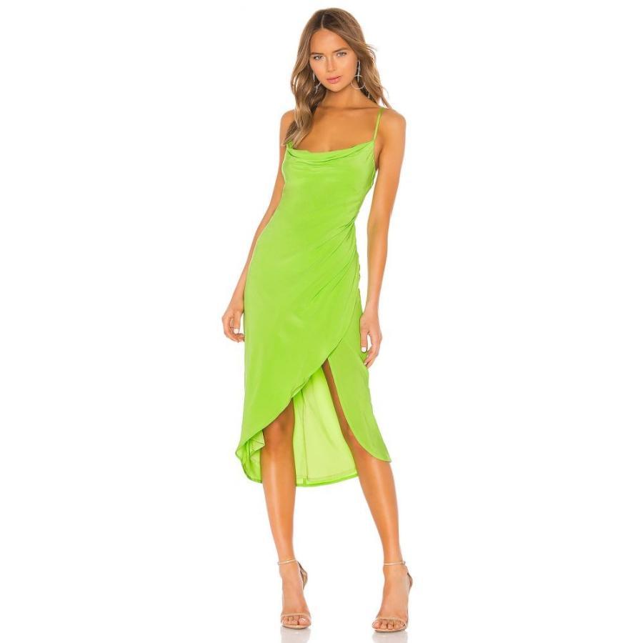ラヴァーズフレンズ Lovers + Friends レディース ワンピース ワンピース・ドレス Noah Wrap Dress Lime 緑