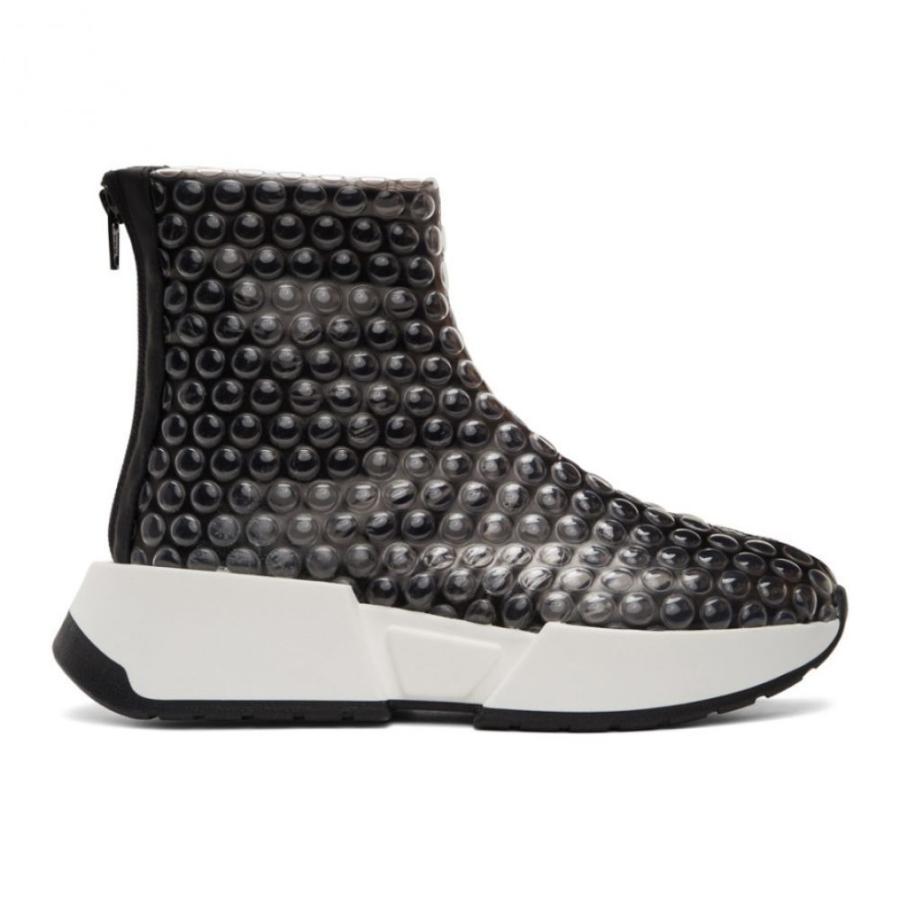 【セール】 メゾン マルジェラ Black MM6 Maison Black Margiela レディース スニーカー スニーカー シューズ・靴 Black Bubble Wrap Sneakers Black, ジュエリー シーアクリエイション:6c310ef5 --- fresh-beauty.com.au