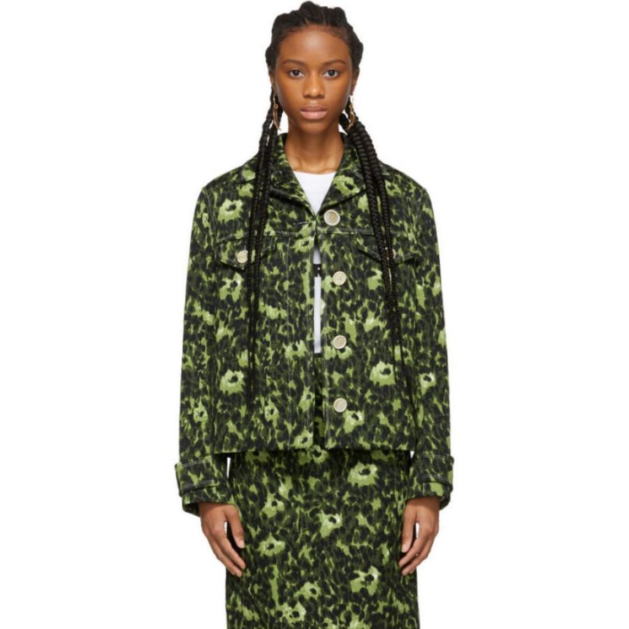 2019年新作 マルニ ジャケット Marni Cheetah レディース ジャケット アウター Green Camouflage アウター Cheetah Print Jacket Green, JJcollection:0fba25e0 --- fresh-beauty.com.au