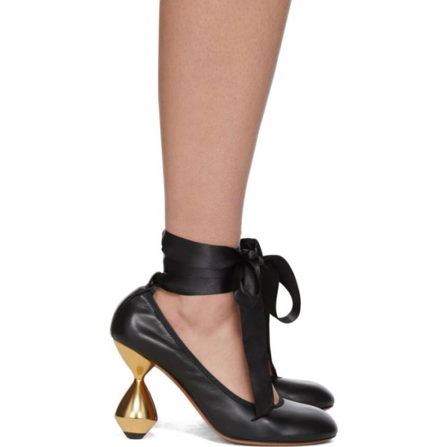 【値下げ】 ロエベ Loewe レディース ヒール シューズ・靴 Black Ballerina 90 Heels Black, TIRE DIRECT 9641d8dd