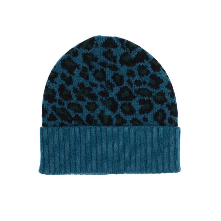 限定版 ポールスミス PAUL SMITH レディース 帽子 hat leopard Deep jade, Why are you here? 830a540c