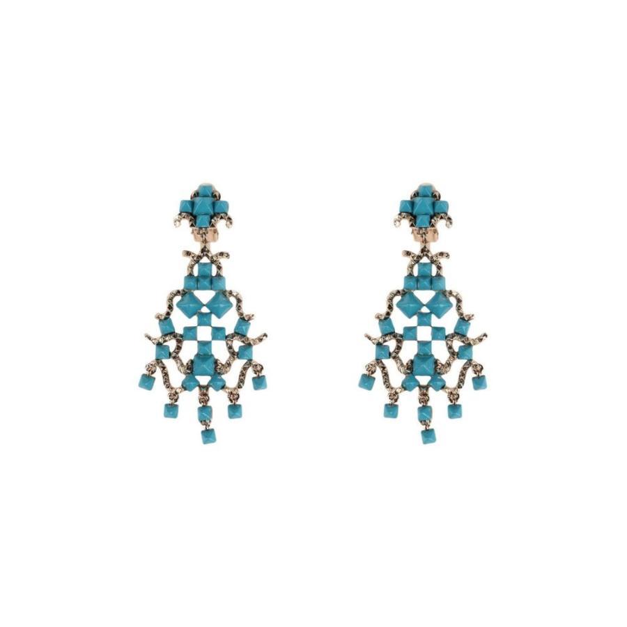 最高 ヴァレンティノ VALENTINO GARAVANI レディース ヴァレンティノ イヤリング・ピアス earrings ジュエリー Azure・アクセサリー earrings Azure, インテリアショップM:f52f3e50 --- airmodconsu.dominiotemporario.com