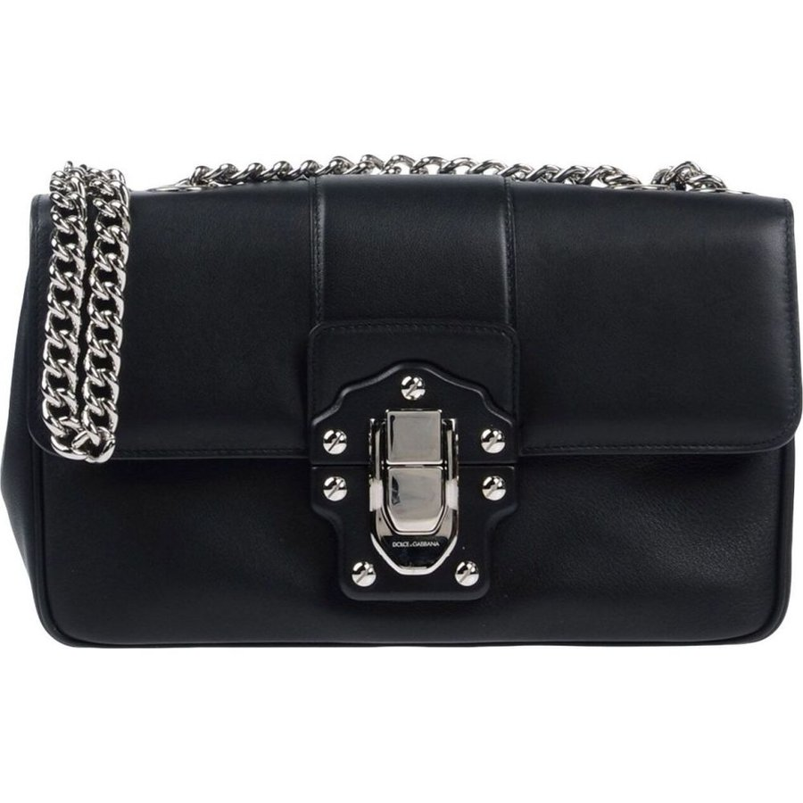 贅沢品 ドルチェ&ガッバーナ DOLCE & & GABBANA レディース ショルダーバッグ バッグ DOLCE バッグ cross-body bags Black, 【在庫僅少】:ac4bdb56 --- fresh-beauty.com.au