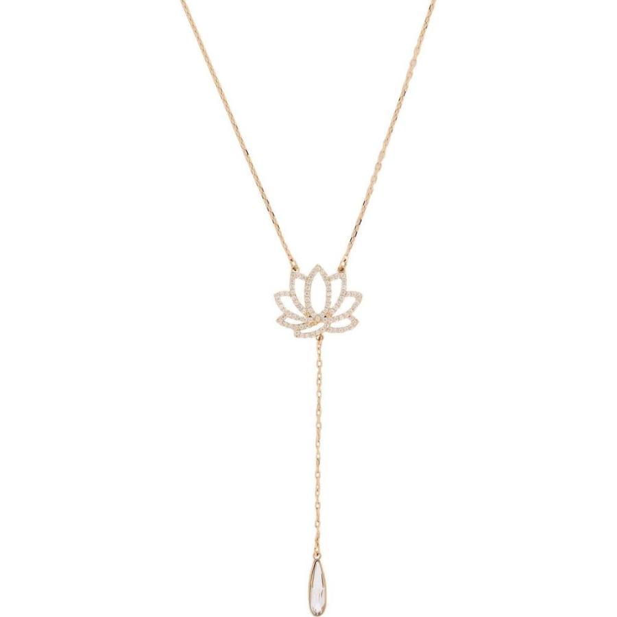 【日本限定モデル】 スワロフスキー SWAROVSKI レディース ネックレス ジュエリー・アクセサリー swa symbol necklace lotus necklace Gold, プレイトイズの雑貨屋さんmine fe87f4ed