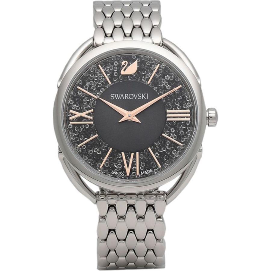 【 開梱 設置?無料 】 スワロフスキー SWAROVSKI レディース 腕時計 crystalline glam wrist watch Black, アクアクラフト 0f5d7c5a