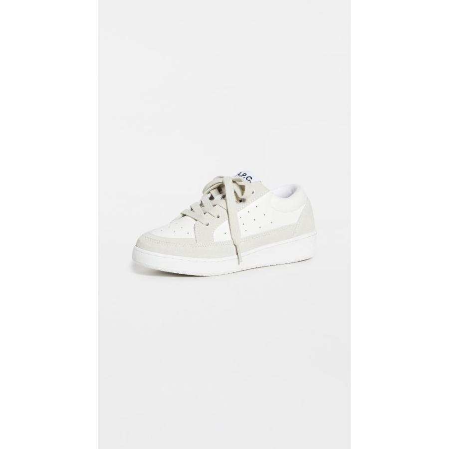 アーペーセー A.P.C. レディース ランニング·ウォーキング スニーカー シューズ·靴 Eddie Running Sneakers Blanc