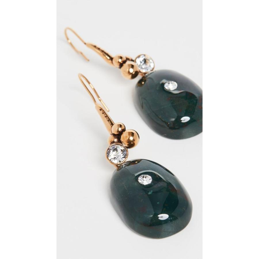 品質が完璧 マルニ Marni レディース イヤリング・ピアス ジュエリー・アクセサリー Metal And Stone Earrings Jade, BIG SHOT 4c9d89ff