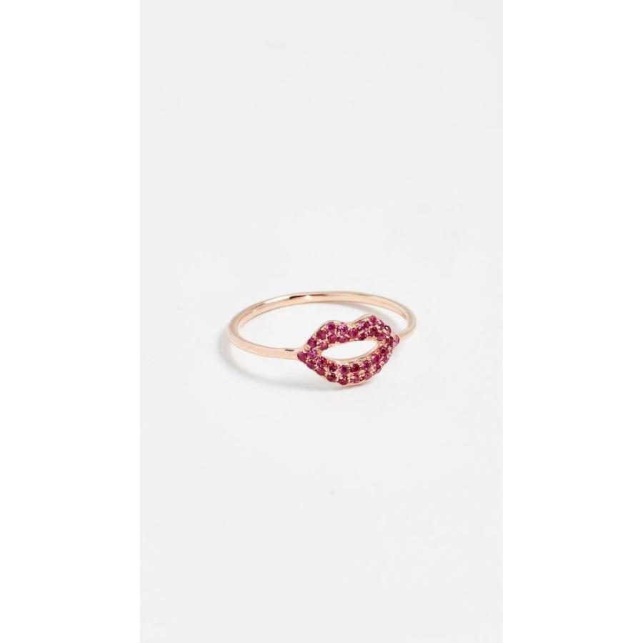 激安単価で シドニーエヴァン Sydney Evan レディース 指輪・リング ジュエリー・アクセサリー 14k Rose Gold Lips Ring Rose Gold, きりめのやおや 7b6fe285