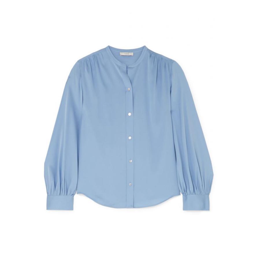 日本初の ヴィンス Stretch-silk Vince レディース Vince ブラウス・シャツ トップス Stretch-silk blouse Avalon Avalon, SPORTS INFINITY:fd944e98 --- sonpurmela.online