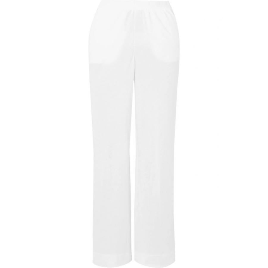 スキン Skin レディース パジャマ・ボトムのみ インナー・下着 adrielle brushed-cotton pajama pants