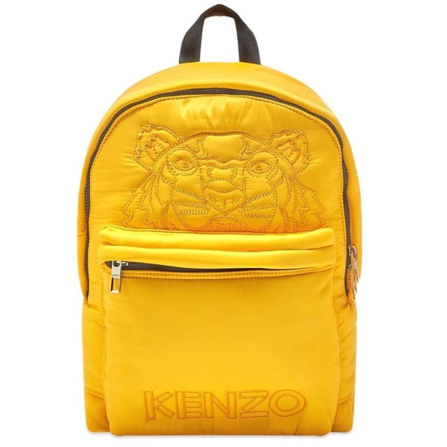 【再入荷!】 ケンゾー Kenzo メンズ バックパック・リュック バッグ バッグ メンズ tiger embroidered Kenzo nylon backpack Marigold, 合成皮革生地通販 銀河工房:67f641e8 --- graanic.com