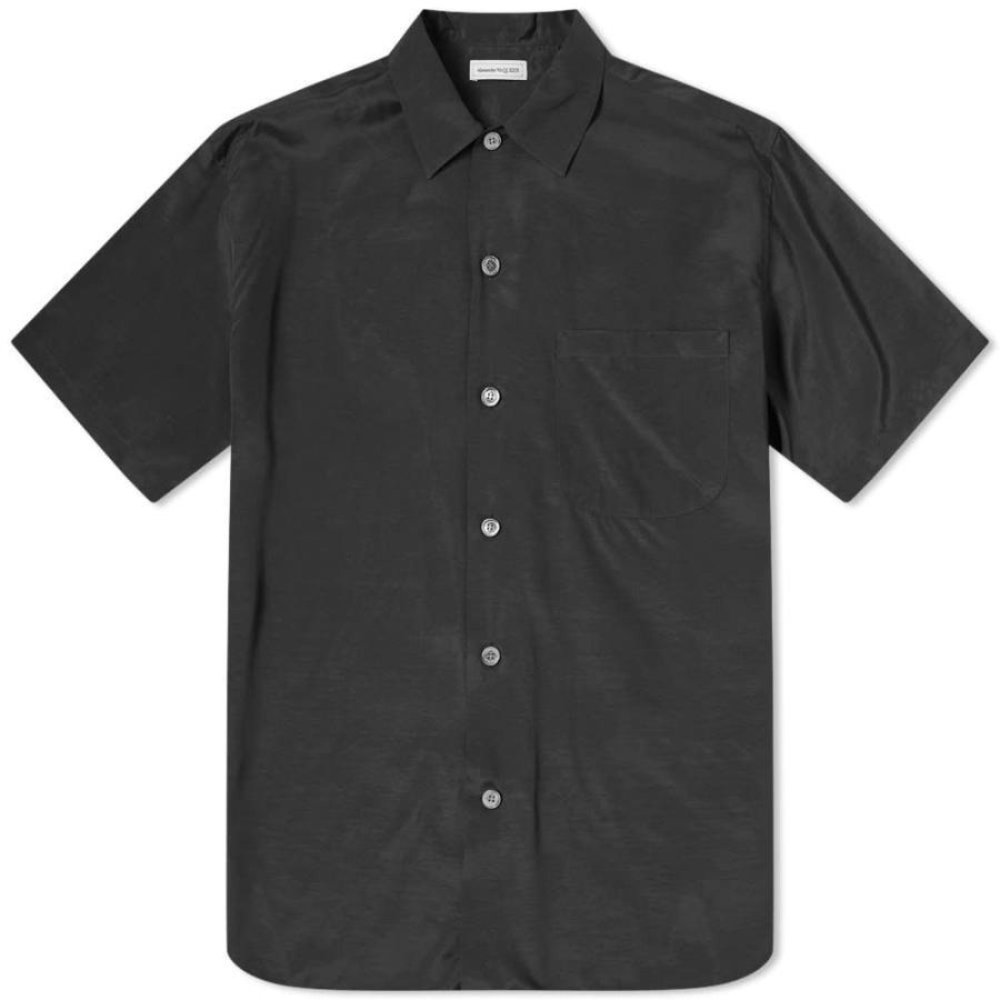 世界の アレキサンダー マックイーン Alexander McQueen McQueen メンズ 半袖シャツ Shirt Alexander トップス Embroidered Dragon Vacation Shirt Black, シェシェア【xiexiea】:7aa53729 --- grafis.com.tr