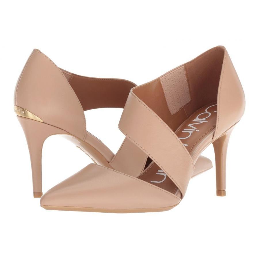 【新発売】 カルバンクライン Calvin Klein レディース パンプス シューズ・靴 Gella Pump Desert Sand Nappa, ウエディングティアラゴージャス屋 73be9607