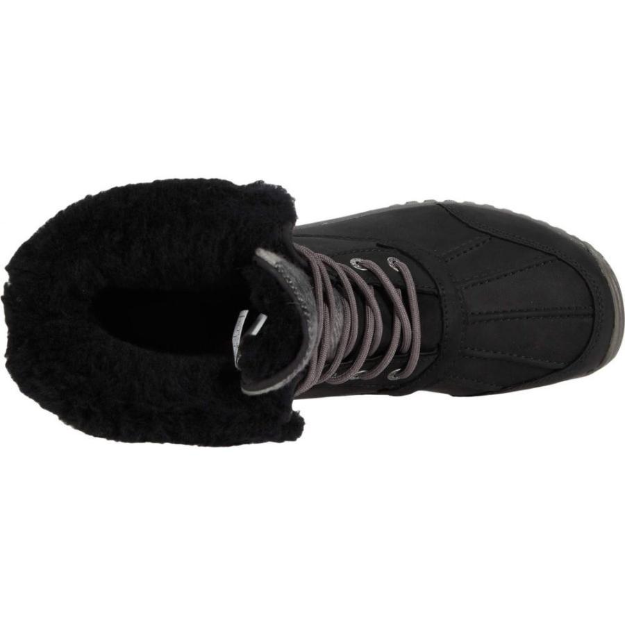 アグ UGG レディース ブーツ シューズ・靴 Adirondack Boot II Plaid Black|ef-3|02