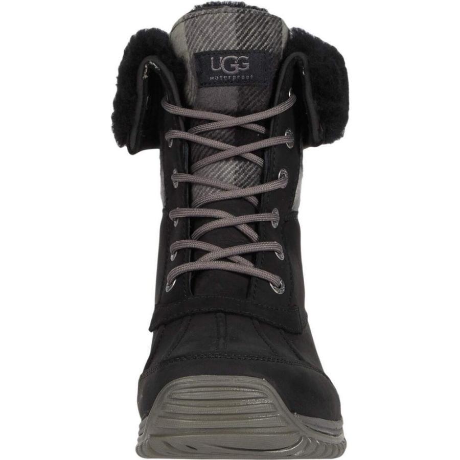 アグ UGG レディース ブーツ シューズ・靴 Adirondack Boot II Plaid Black|ef-3|06