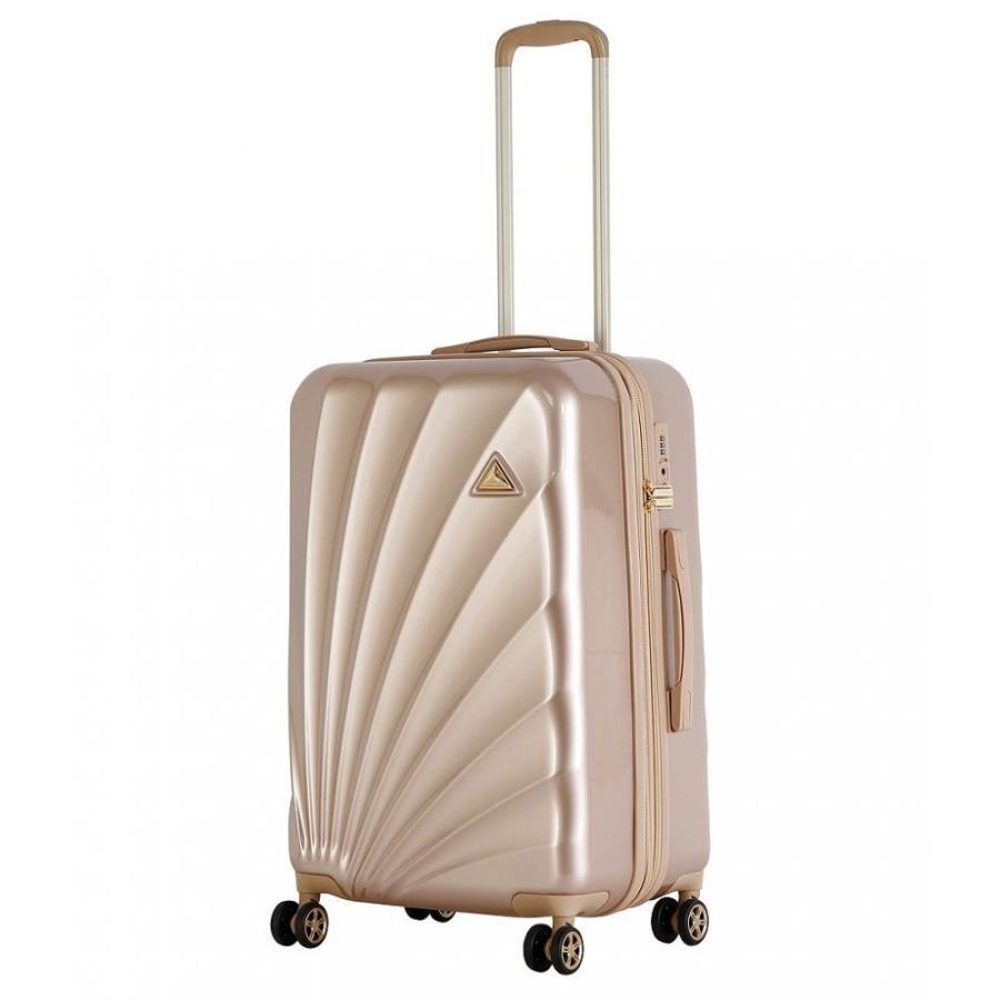 トライフォース Triforce レディース スーツケース・キャリーバッグ バッグ Sienna Medium Spinner Gold