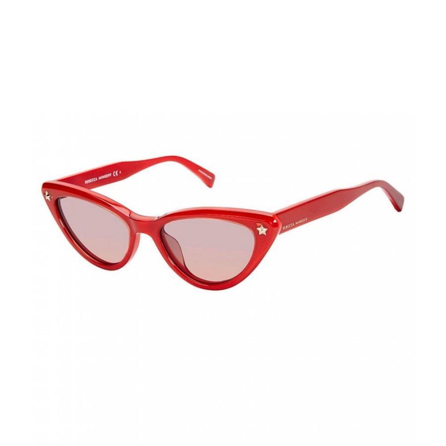 レベッカ ミンコフ REBECCA MINKOFF レディース メガネ・サングラス Brooke Cat Eye Sunglasses 赤