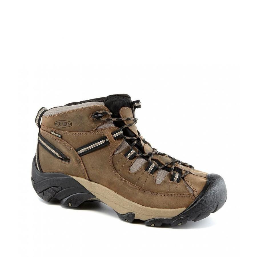 キーン Keen メンズ シューズ・靴 ハイキング・登山 Targhee II Waterproof Hiking Boots Shitake/Brindle