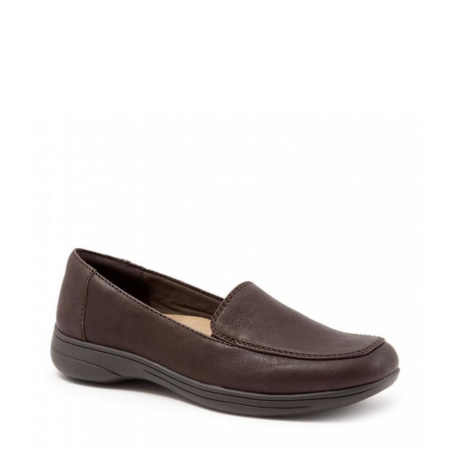 トロッターズ Trotters レディース ローファー・オックスフォード シューズ・靴 jacob leather loafers Dark 褐色
