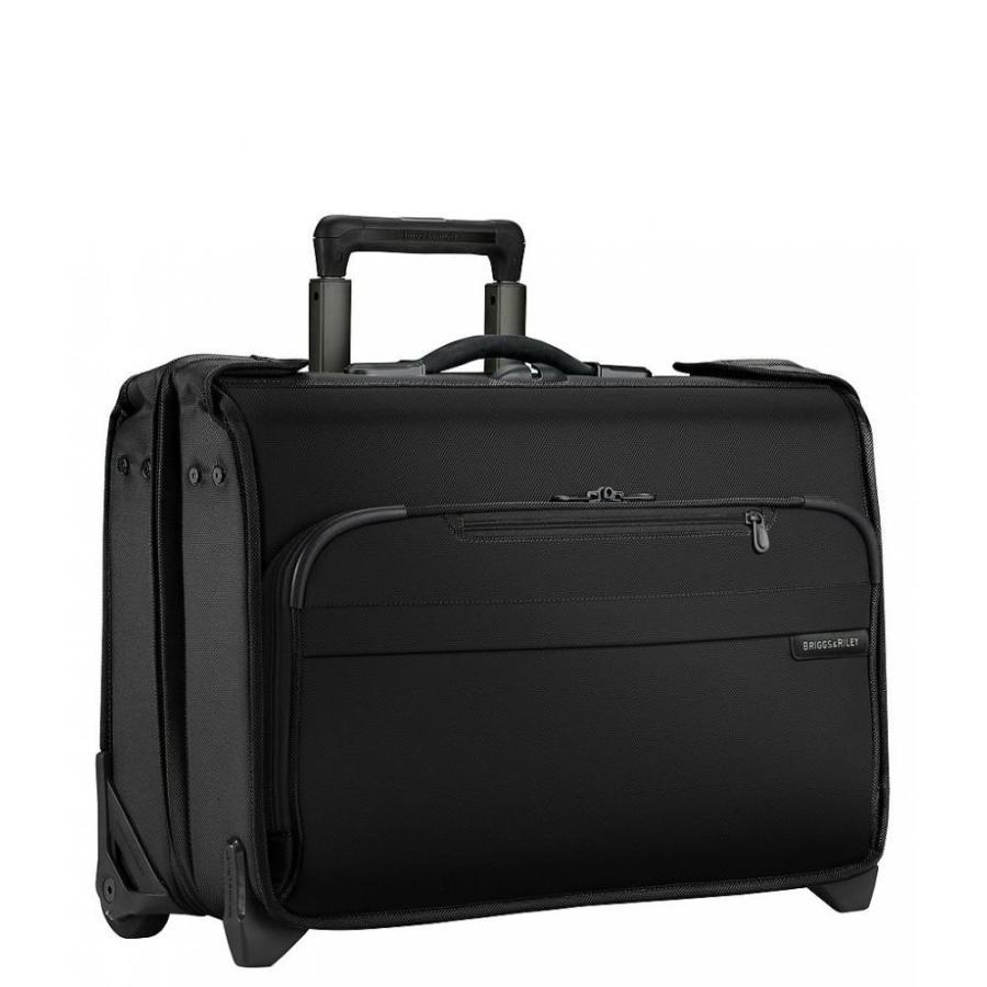 ブリッグスアンドライリー Briggs & Riley レディース スーツケース・キャリーバッグ バッグ Baseline Carry-on Wheeled Garment Bag Black