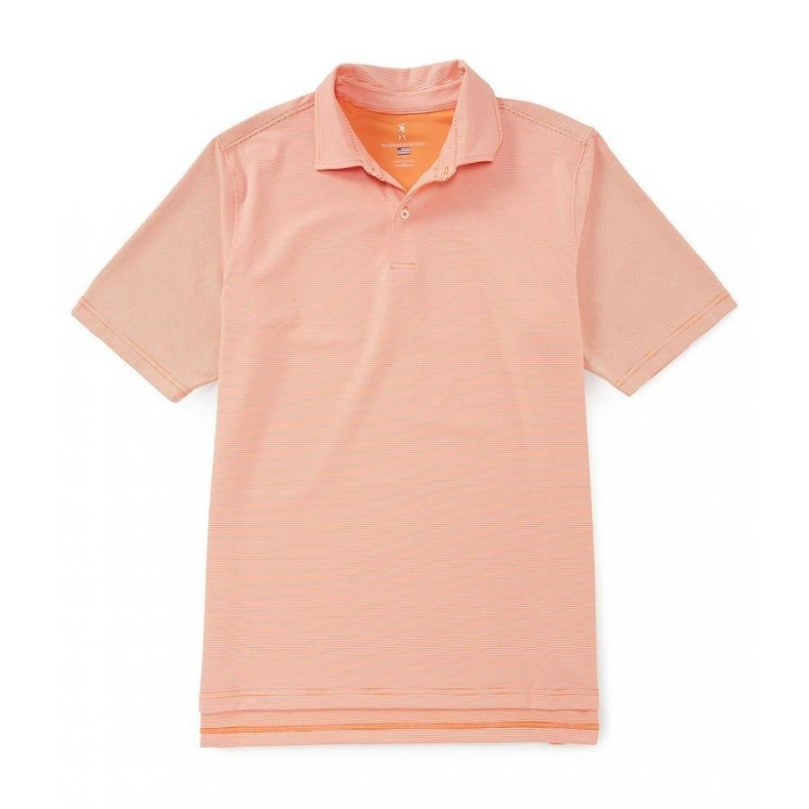 フェアウェイアンドグリーン Fairway & 緑e メンズ トップス ゴルフ Golf USA Mini Stripe Short-Sleeve Jersey Polo Flare