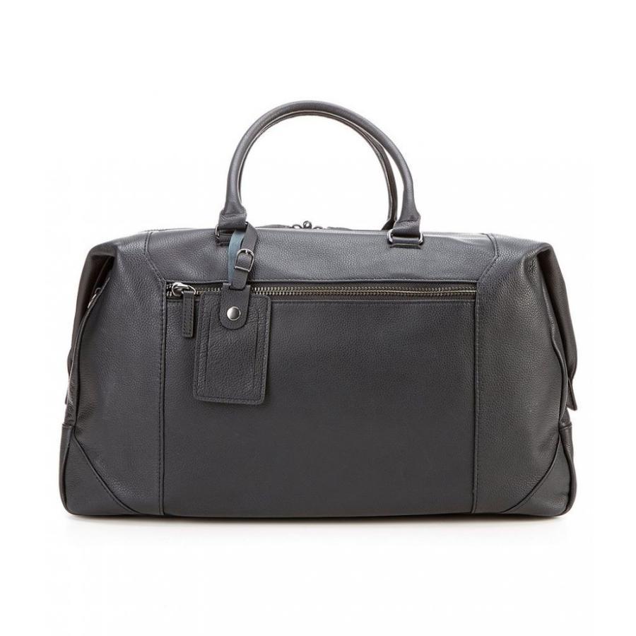 ダニエル クレミュ Cremieux メンズ ボストンバッグ・ダッフルバッグ バッグ Leather Duffle Bag 黒
