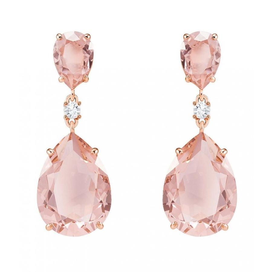 【お気にいる】 スワロフスキー Swarovski レディース イヤリング・ピアス ジュエリー・アクセサリー Vintage Drop Earrings Pink, 函南町 020f358b